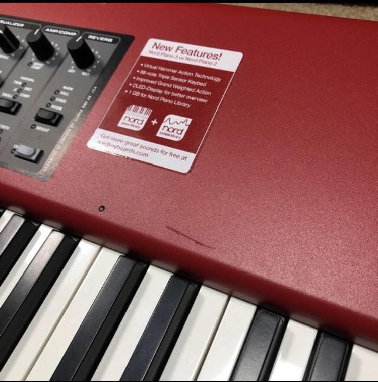 【限定一台】Nord Piano3 88鍵 付属品完備_画像3