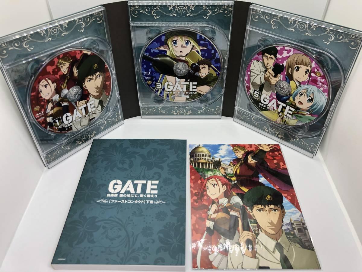 ★☆【中古】GATE 自衛隊 彼の地にて、斯く戦えり Blu-ray vol.1~6 + Blu-ray Box 2☆★_画像10