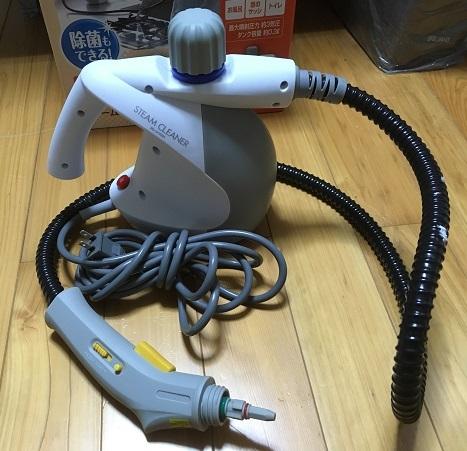 【送料無料】アイリスオーヤマ スチームクリーナー STM-304W 動作OK_画像2