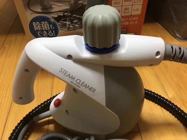 【送料無料】アイリスオーヤマ スチームクリーナー STM-304W 動作OK_画像3