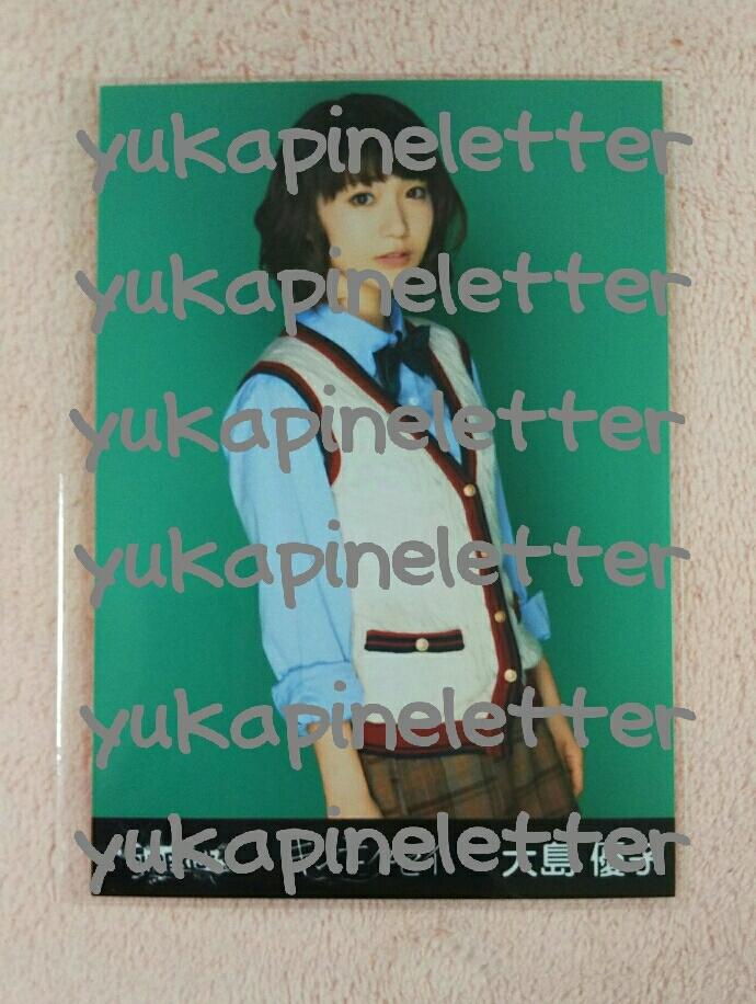 AKB48 チームサプライズ 生写真 キンモクセイ アップ AKB48 チームK 大島優子_画像1