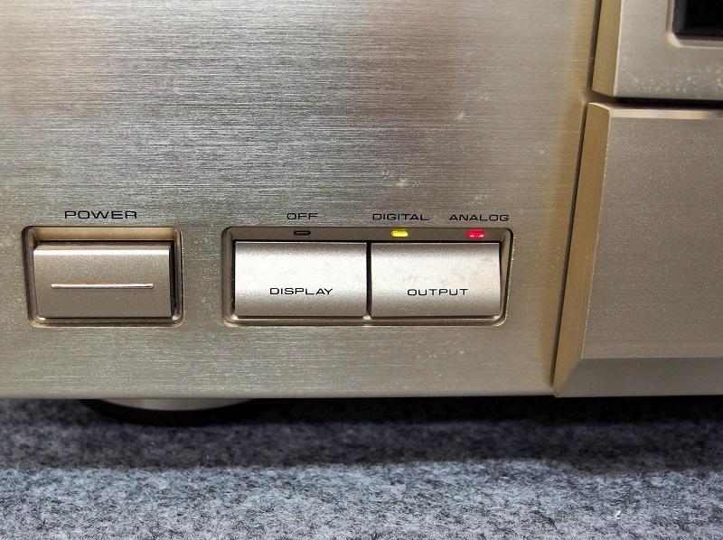 PIONEER パイオニア / CDプレーヤー / PD-T07HS Limited(ジャンク品)_画像5