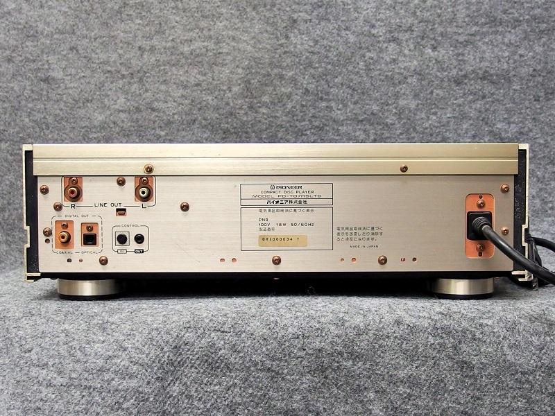 PIONEER パイオニア / CDプレーヤー / PD-T07HS Limited(ジャンク品)_画像6