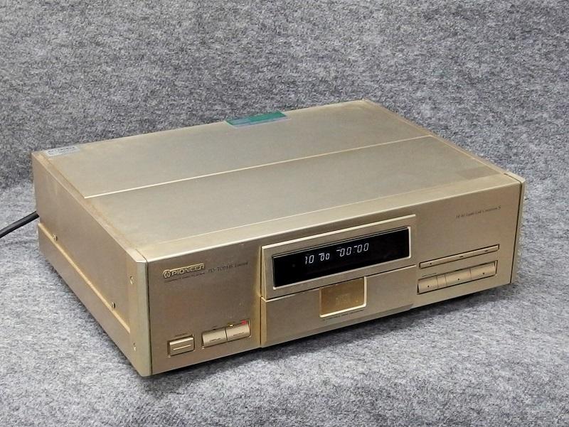 PIONEER パイオニア / CDプレーヤー / PD-T07HS Limited(ジャンク品)_画像4