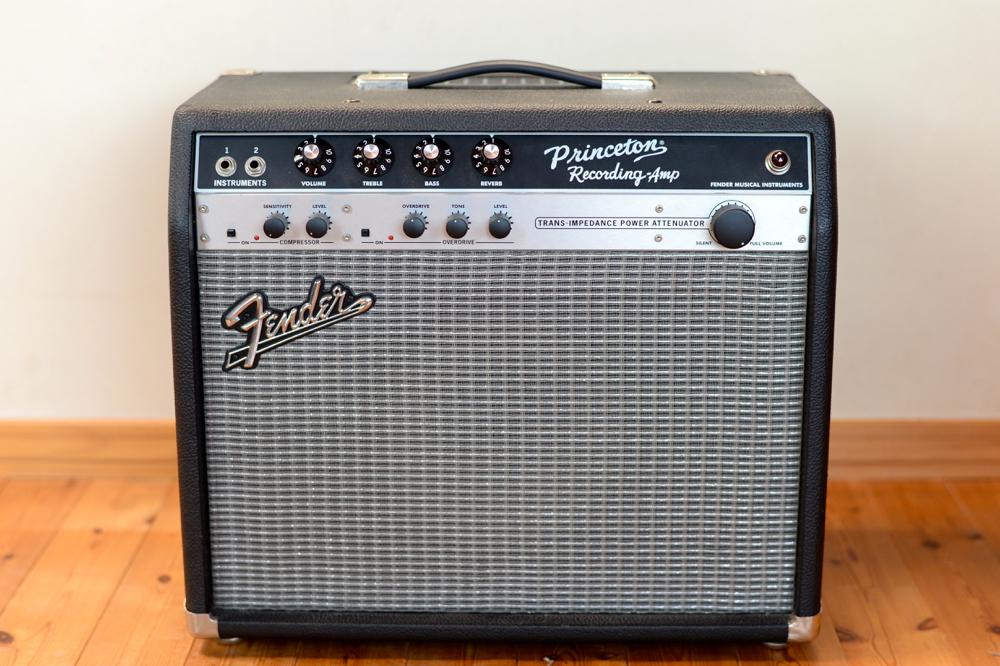 【国内正規品100V仕様】 Fender USA Princeton Recording Amp アッテネーター内蔵 プリンストンリバーブ プリンストン Reverb
