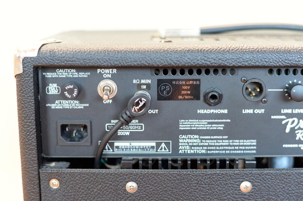 【国内正規品100V仕様】 Fender USA Princeton Recording Amp アッテネーター内蔵 プリンストンリバーブ プリンストン Reverb _画像5