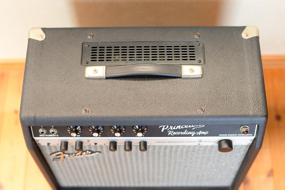 【国内正規品100V仕様】 Fender USA Princeton Recording Amp アッテネーター内蔵 プリンストンリバーブ プリンストン Reverb _画像9