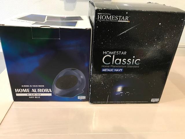HOMESTAR CLASSIC &HOME AURORA セット プラネタリウム オーロラ ホームスター ホームオーロラー