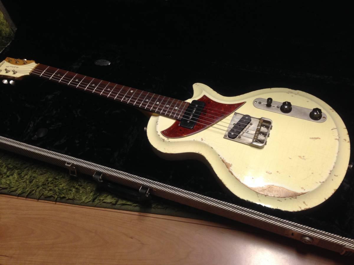 fano guitars(ファノ・ギターズ)SP6 OlympicWhite 最落なし!!