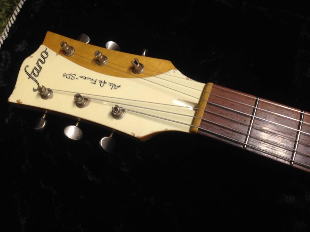 fano guitars(ファノ・ギターズ)SP6 OlympicWhite 最落なし!!_画像4