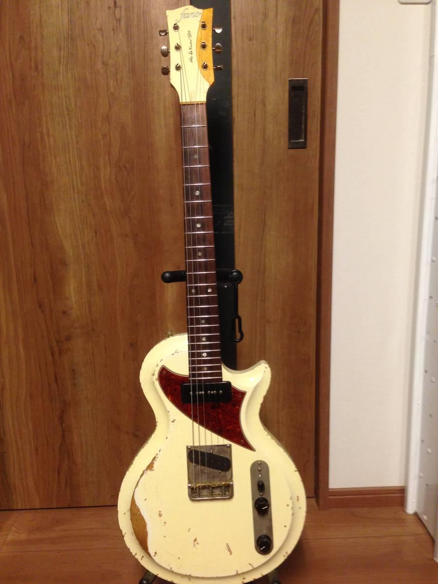 fano guitars(ファノ・ギターズ)SP6 OlympicWhite 最落なし!!_画像10