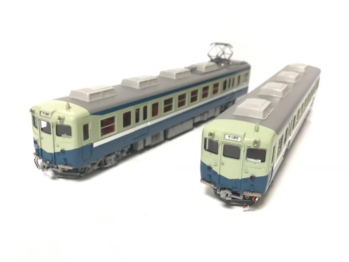 エンドウ2006年製 富士急行 5000形 電車2両セット 富士急行50th記念 HG MP 新品同様 S52ローレル賞