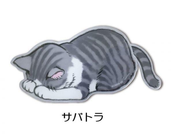 【激安】●○新品 即決 「ごめん寝 ダイカットペンケース 【サバトラ】 アーティミス」 猫グッズ 猫雑貨○●ⅩⅤ_画像1