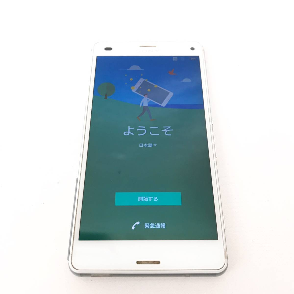 ★SONY XPERIA Z3 COMPACT SO-02G docomo ネットワーク利用制限〇★ドコモ/16GB/ソニー/エクスペリア/Z3 Compact/SO-02G/CD0