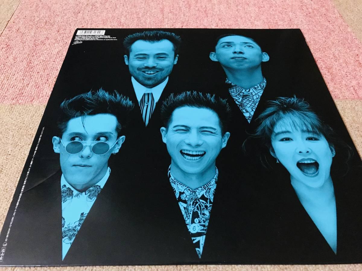 ★LP★BARBEE BOYS バービーボーイズ 2枚組 LP ベスト・アルバム Black List ブラックリスト★即決★ _画像4