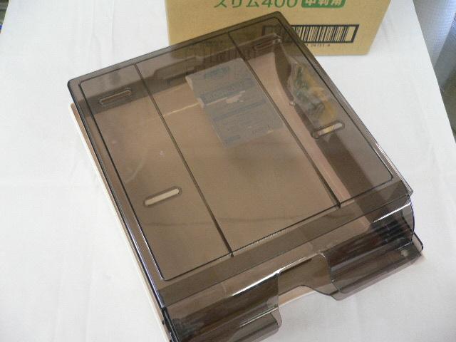 9723) 日本製紙 クレシア ハンドタオル ディスペンサー スリム400 中判用 ペーパータオルホルダー_画像4