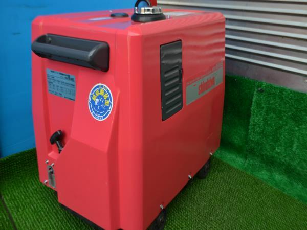 新ダイワ 防音型 発電機溶接機 EGW181MS _画像4