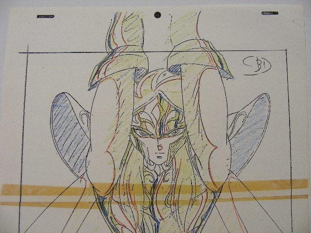 ☆聖闘士星矢「カミユ」の原画&コピーセット_画像2