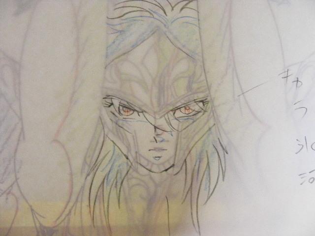 ☆聖闘士星矢「カミユ」の原画&コピーセット_画像4