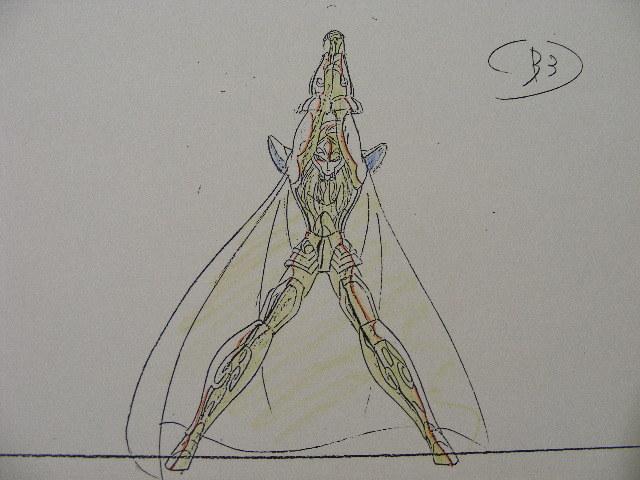 ☆聖闘士星矢「カミユ」の原画&コピーセット_画像6