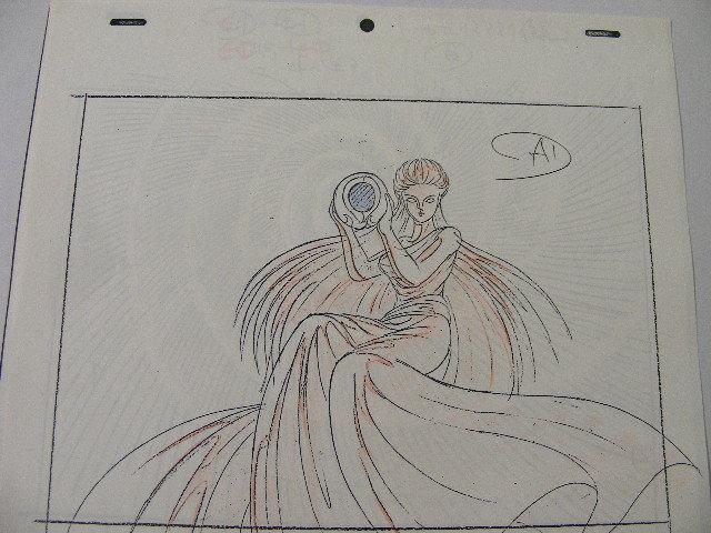 ☆聖闘士星矢「カミユ」の原画&コピーセット_画像8
