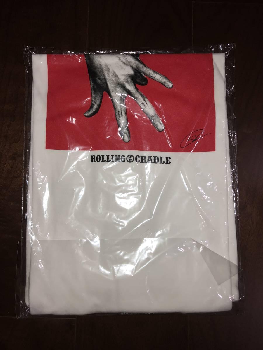 ROLLING CRADLE ローリングクレイドル 中邑真輔 コラボ Tシャツ XLサイズ プロレス WWE 新品未使用_画像4