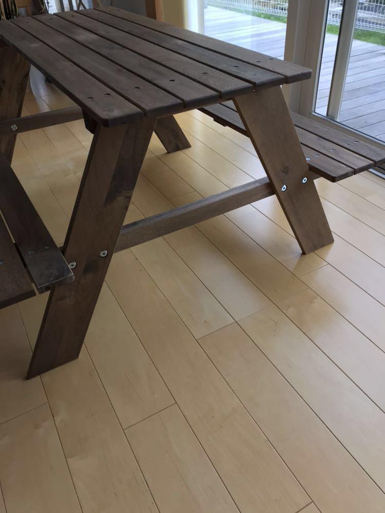 IKEA イケア レーソー 子供用ピクニックテーブル 美used_画像3
