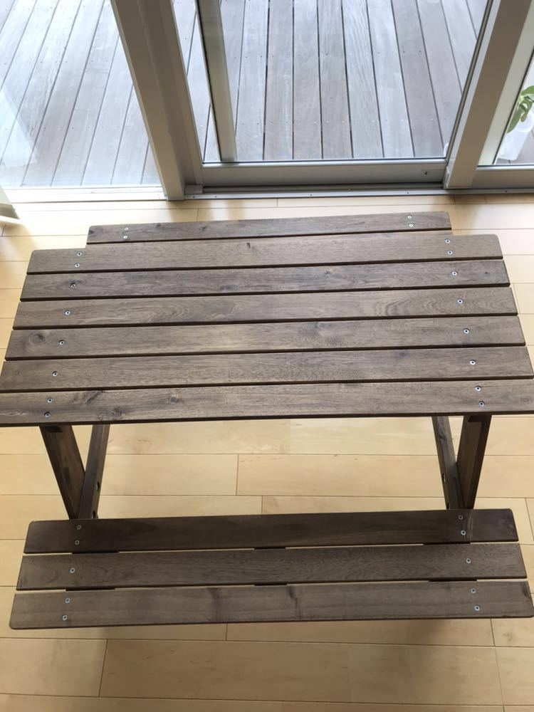IKEA イケア レーソー 子供用ピクニックテーブル 美used_画像2