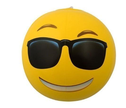 ★ 面白い絵文字 ビーチウォーターボール インフレータブルプール プールパーティーのおもちゃ_画像4