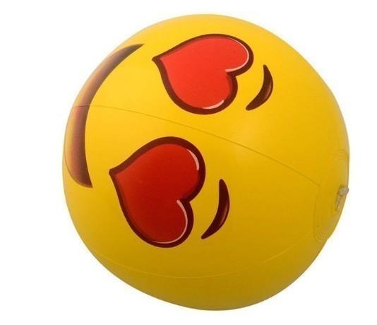 ★ 面白い絵文字 ビーチウォーターボール インフレータブルプール プールパーティーのおもちゃ_画像10