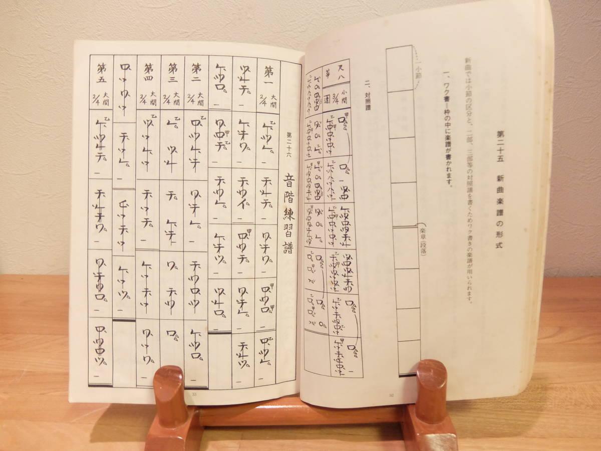 琴古流尺八 楽典 佐藤晴美 著 琴古社 昭和60年 _画像6