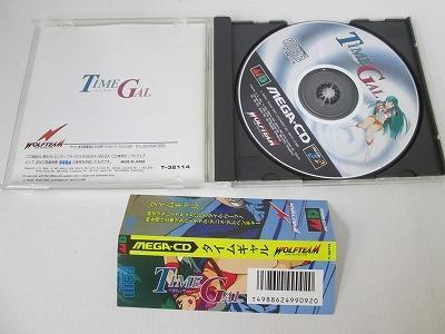 メガドライブ メガCD MEGA-CD TIME GAL タイムギャル WOLFTEAM 19061501_画像3