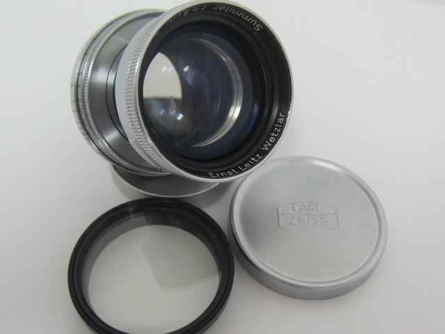 Leica Ernst Leitz Wetzlar Summitar f=5cm 1:2 防湿庫保管品☆彡