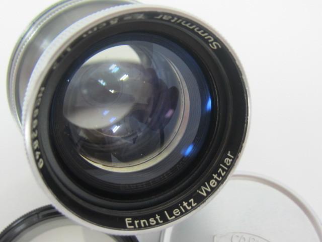 Leica Ernst Leitz Wetzlar Summitar f=5cm 1:2 防湿庫保管品☆彡_画像2