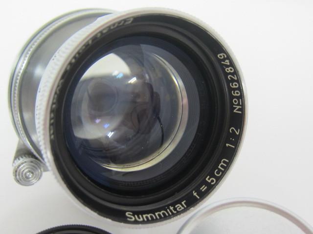 Leica Ernst Leitz Wetzlar Summitar f=5cm 1:2 防湿庫保管品☆彡_画像3