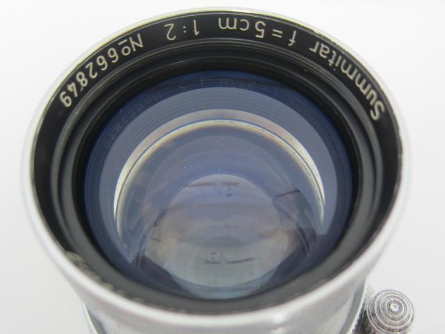 Leica Ernst Leitz Wetzlar Summitar f=5cm 1:2 防湿庫保管品☆彡_画像5