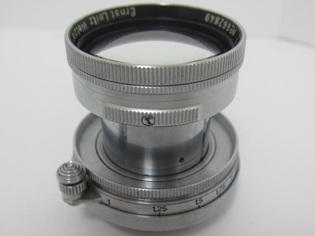 Leica Ernst Leitz Wetzlar Summitar f=5cm 1:2 防湿庫保管品☆彡_画像9