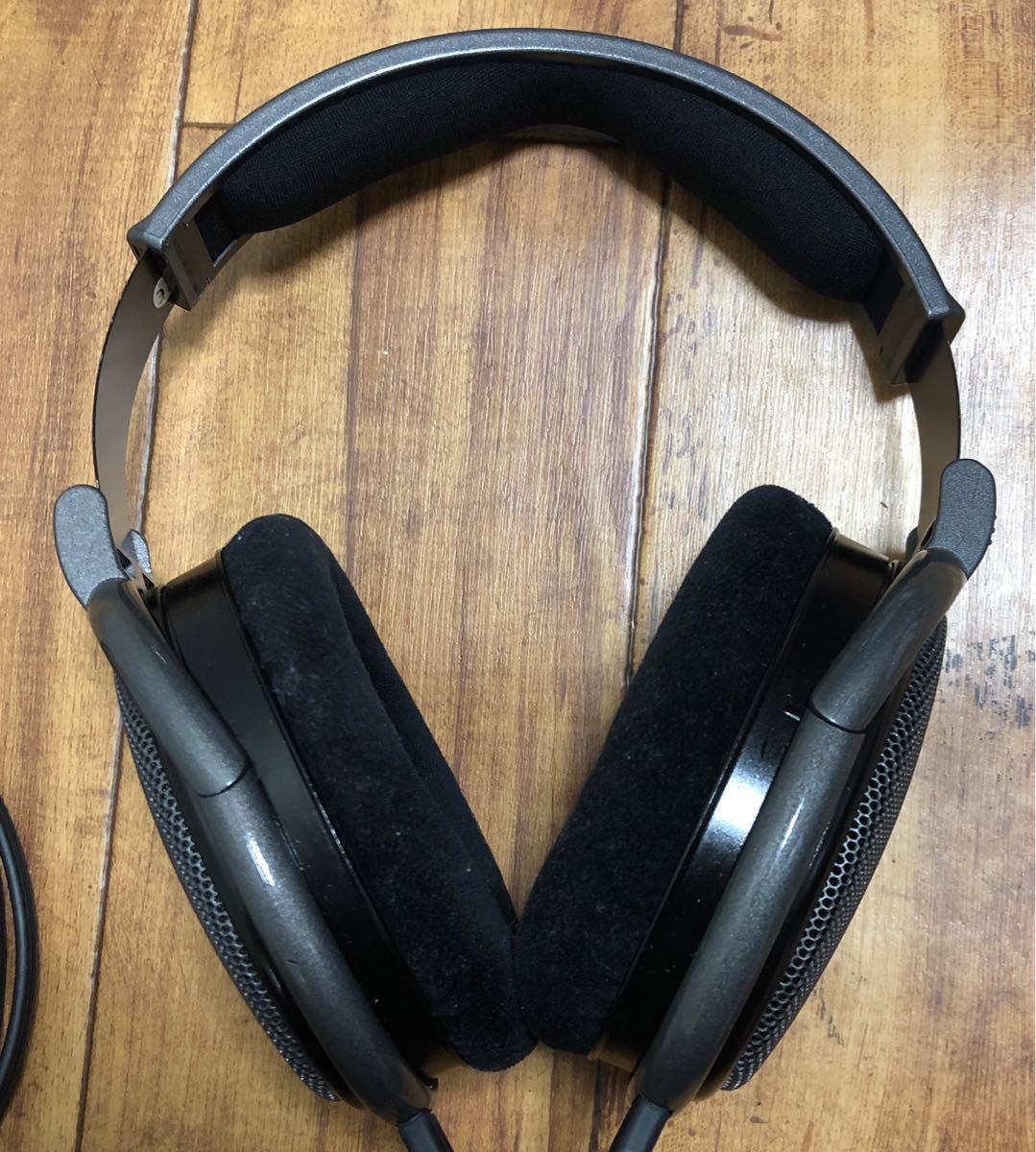 極美品◆SENNHEISER ゼンハイザー HD650 オープン型ヘッドホン ヘッドフォン _画像7