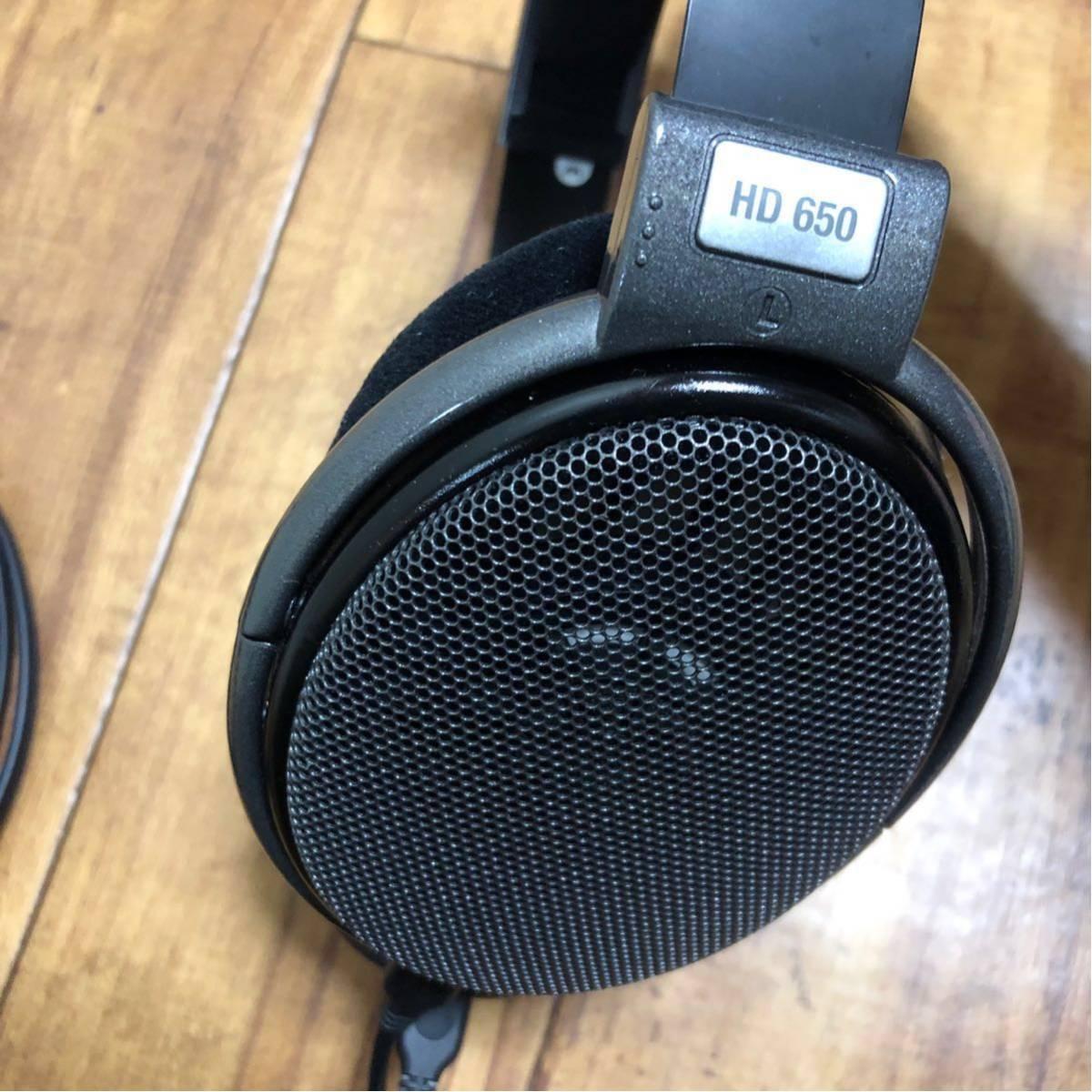 極美品◆SENNHEISER ゼンハイザー HD650 オープン型ヘッドホン ヘッドフォン