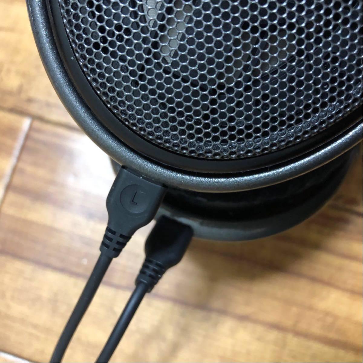 極美品◆SENNHEISER ゼンハイザー HD650 オープン型ヘッドホン ヘッドフォン _画像4