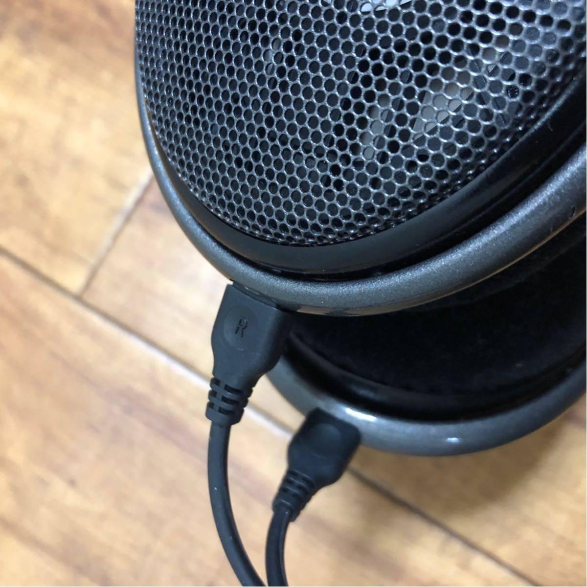 極美品◆SENNHEISER ゼンハイザー HD650 オープン型ヘッドホン ヘッドフォン _画像3