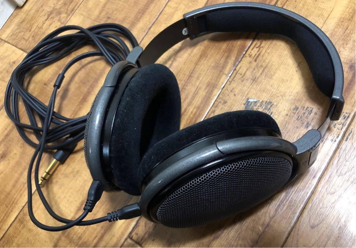極美品◆SENNHEISER ゼンハイザー HD650 オープン型ヘッドホン ヘッドフォン _画像6