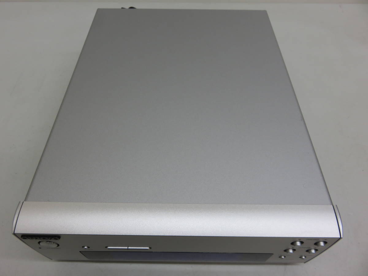 ONKYO オンキョー T-405FX FM AM チューナー 275直系 コンパクト 自動 時刻設定 アキュクロック 中古 美品_画像7