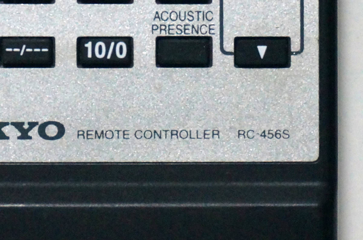 ONKYO RC-456S A-905TX R-805TX 用 リモコン 赤外線確認済み_画像3