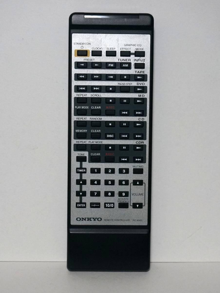 ONKYO RC-456S A-905TX R-805TX 用 リモコン 赤外線確認済み