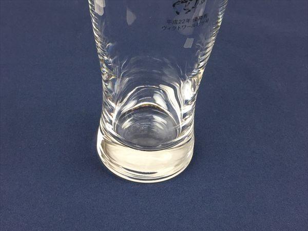 a-185 サッポロビール 第56回有馬記念(GI)平成22年 優勝馬 ヴィクトワールピサ号 ビールグラス 《同梱不可》_画像4