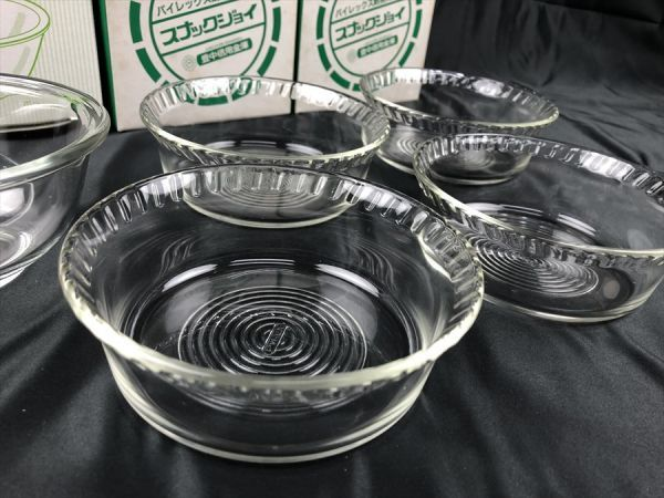 a-211 1円~ パイレックス 耐熱ガラス ボウル 小鉢 まとめて 《同梱不可》_画像2