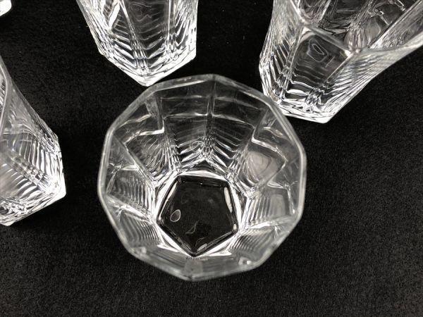p-63 1円~ 未使用品 EDEL タンブラー セット グラス 茶器 10客 日本製 《同梱不可》 ヤフネコ発送_画像4