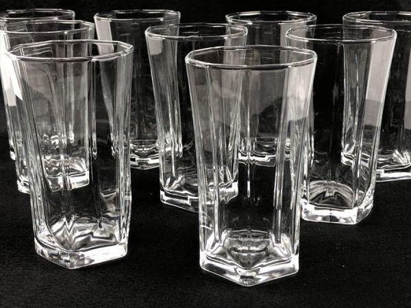 p-63 1円~ 未使用品 EDEL タンブラー セット グラス 茶器 10客 日本製 《同梱不可》 ヤフネコ発送_画像5