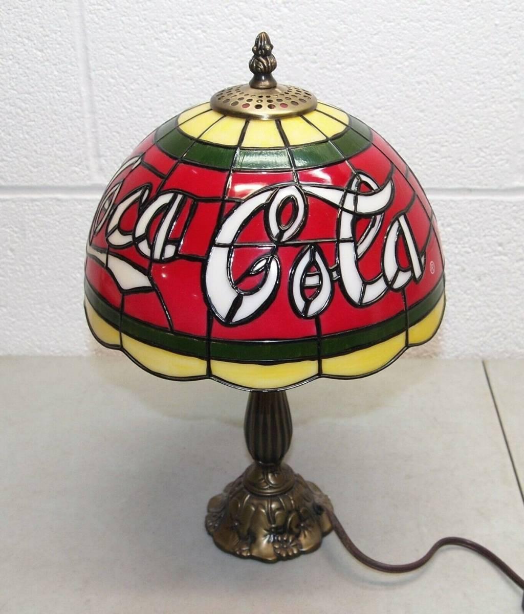 Coca-Cola コカ・コーラ ティファニーランプ 照明 希少品